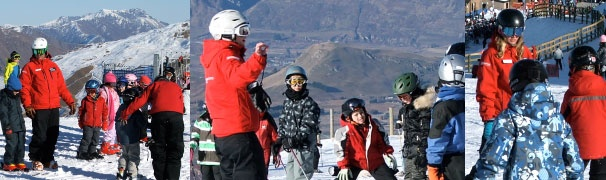 learn to teach ski school in New Zealand