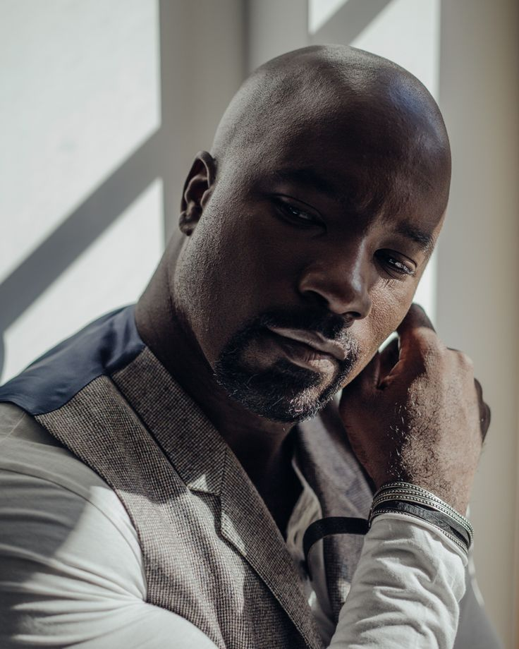"sashafoto: "" mike colter, nyc (oct. 2016) shot for the new york times © sashaarutyunova.com """