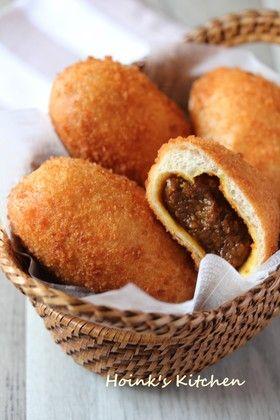 さっくりフワッ◇中味もおいしいカレーパン by Hoink [クックパッド] 簡単おいしいみんなのレシピが264万品