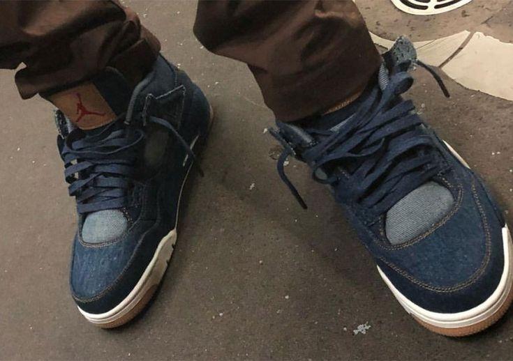 Levis Air Jordan 4 First Look #thatdope #sneakers #luxury #dope #fashion #trending