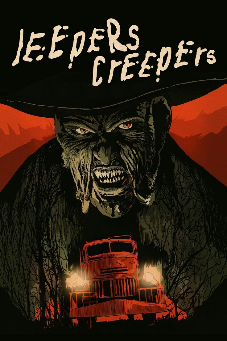 Jeepers Creepers Bigtoe142 Hotmail Com Horror Movie Art