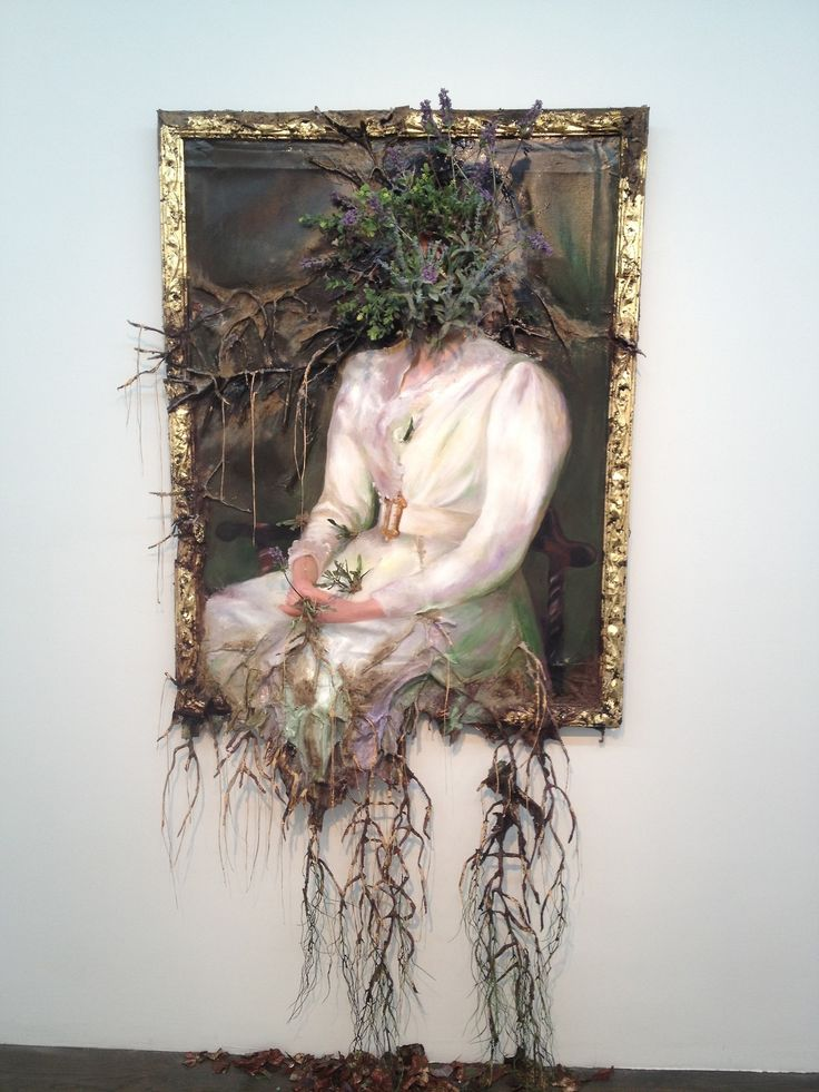 Valerie Hegarty (American, b. 1967, Burlington, VT, USA) - 1: Autumn on the Wissahickon with Tree, 2010 (reinstalled 2015) 2:George Washington with Branch (Version 2), 2017 3: Headless George Washington with Table (Complete Piece), 2012 4,5: Flower...