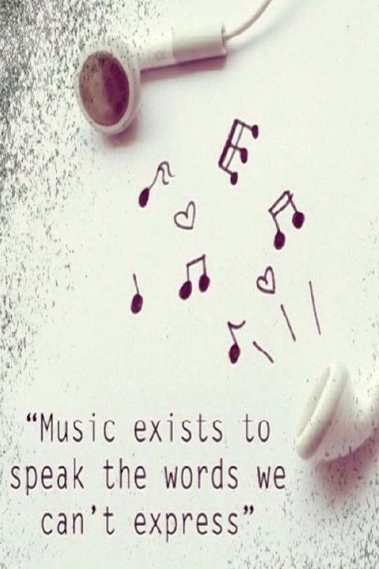Music is my life. Music expresses simply what we cant explain nor want to.
