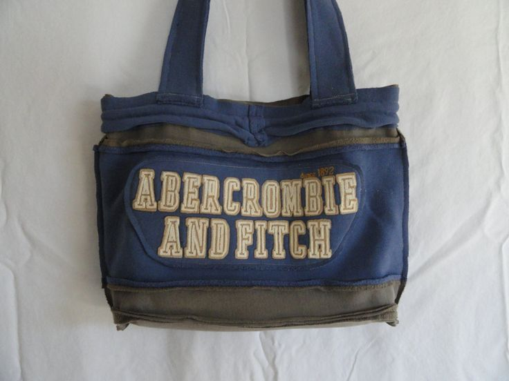 Abercrombie and Fitch  tote/purse by DOhomemade on Etsy