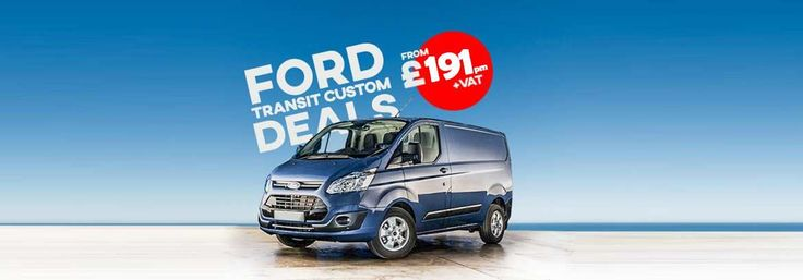 Ford Transit Custom Lease Deal -  The popular Ford Transit Custom Limited Van most popular on finance lease