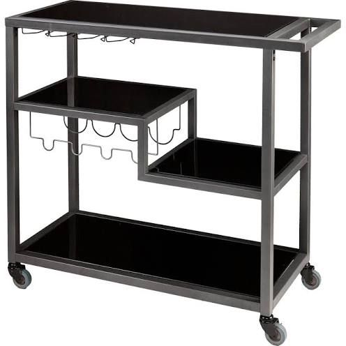 modern outdoor bar cart