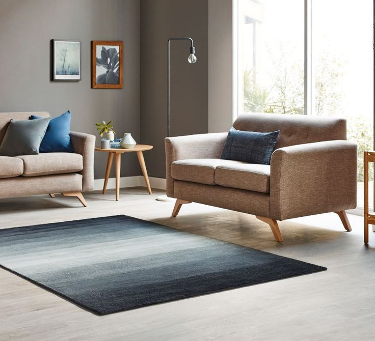 The ultimate rug for enduring foot traffic. Perfect for kids and pets! #bunnings #rug #ombre #interiordesign #livingroom