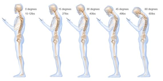 How to protect your spine while texting