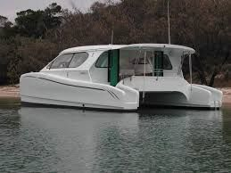 Image result for small power catamaran