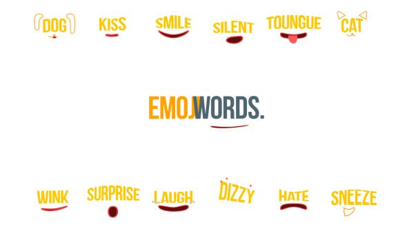Emoji Words by SoftLight Emoji Words ¨Cfunny and emotional word animation for inserts into your projects. 50  stickers. AE CS6 and above, No Plugins, Color