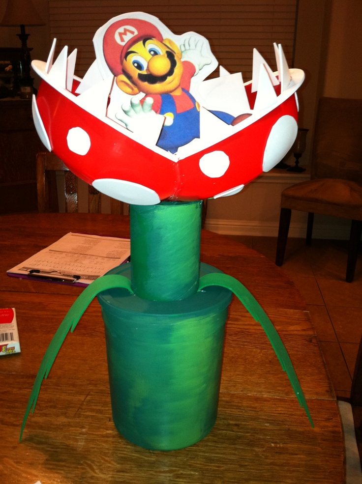 super mario valentines box all the kids in my sons class went crazy - Kids Valentine Boxes