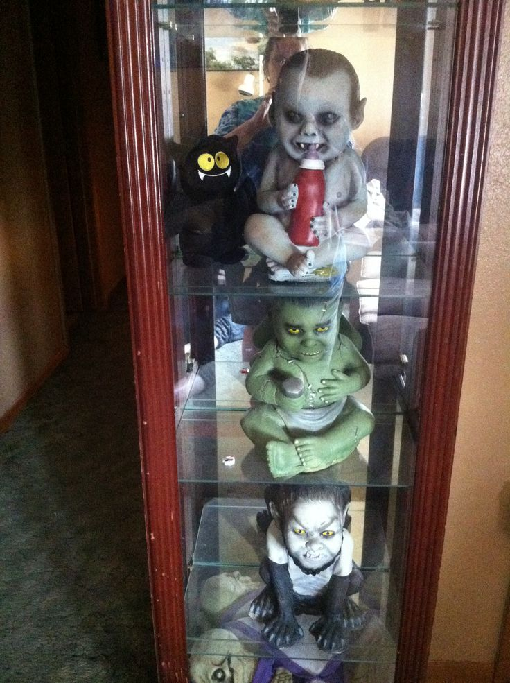 Zombie Babies I Bought From Spirit Halloween In 2019