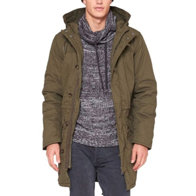 QS by s.Oliver – Giacca modello #parka Uomo