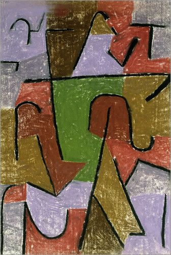 'Indianisch' (1937) by Paul Klee