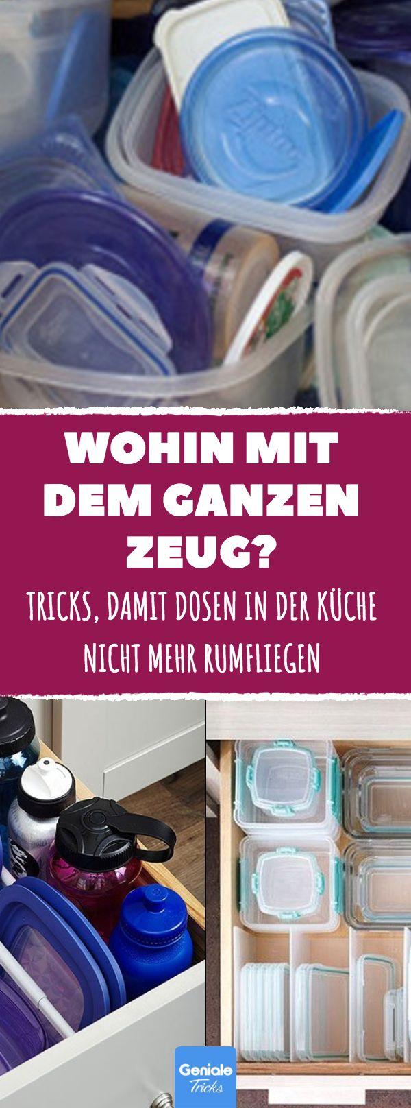 Tricks, damit Dosen in der Küche nicht mehr rumfl…