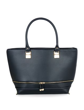 The handiest bag you'll ever own: the Black Double Zip Tote Bag. #newlook #bags