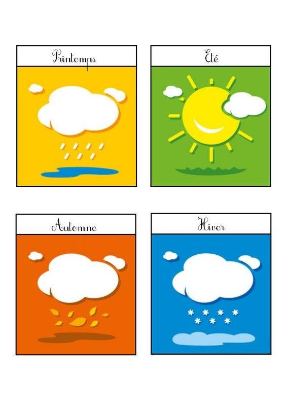 Tableau météo 4 - A imprimer
