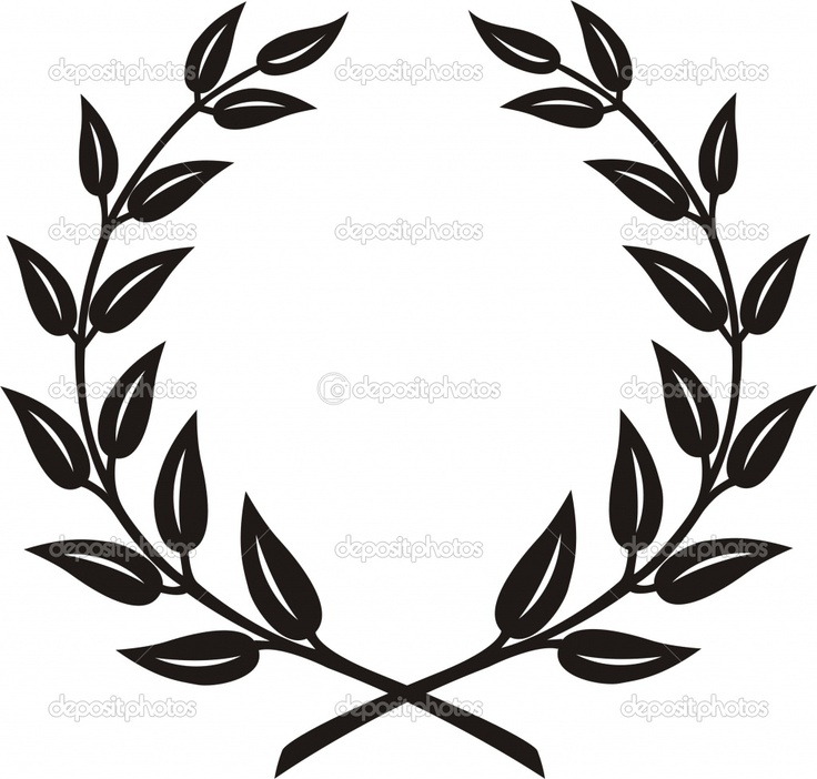 laurel leaf crown template - m s de 20 ideas incre bles sobre tatuaje de corona de