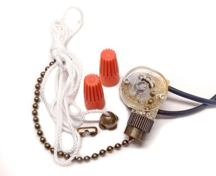 17 best ideas about ceiling fan switch outdoor fans zing ear ze 109 2 wire ceiling fan light pull chain switch antique brass