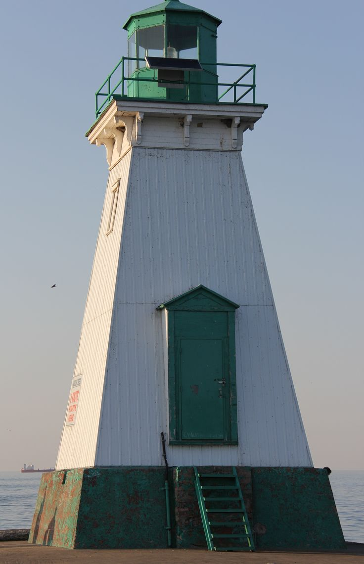 One of the two lighthouses in Port Dalhousie ( St. Catharines ) Ontario, Canada