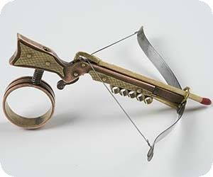 how to make a crossbow for kids