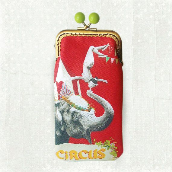 Circus eyeglasses / cell phone case