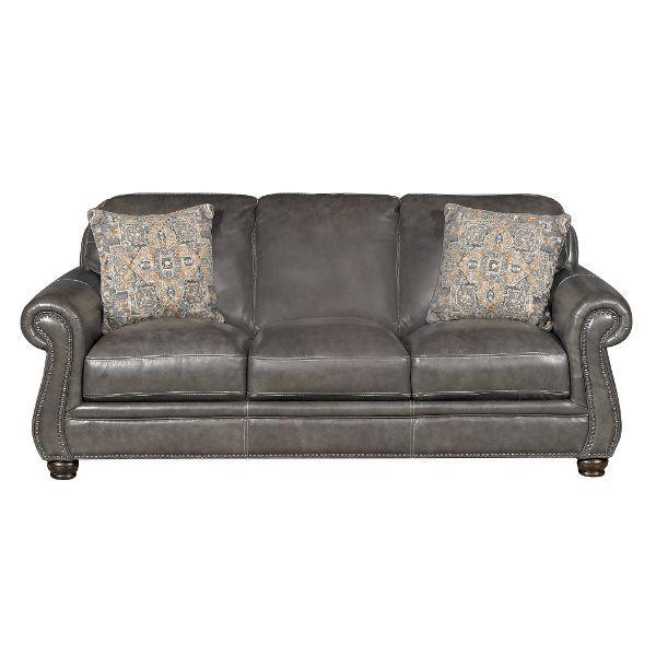 Best London 87 Charcoal Leather Sofa Decorating Pinterest 400 x 300