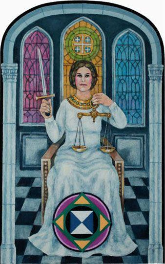 273 Best Tarot Art - Justice Images On Pinterest