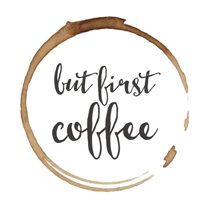 But first coffee - Etsy printable