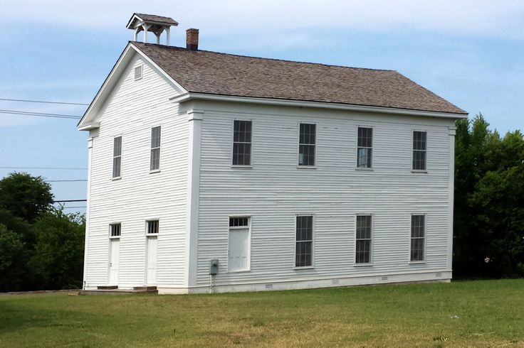 One of the first buildings in Springdale Arkansas.