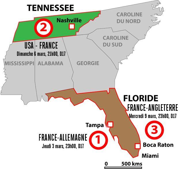 Equipes de France - Acte II à Nashville - FFF