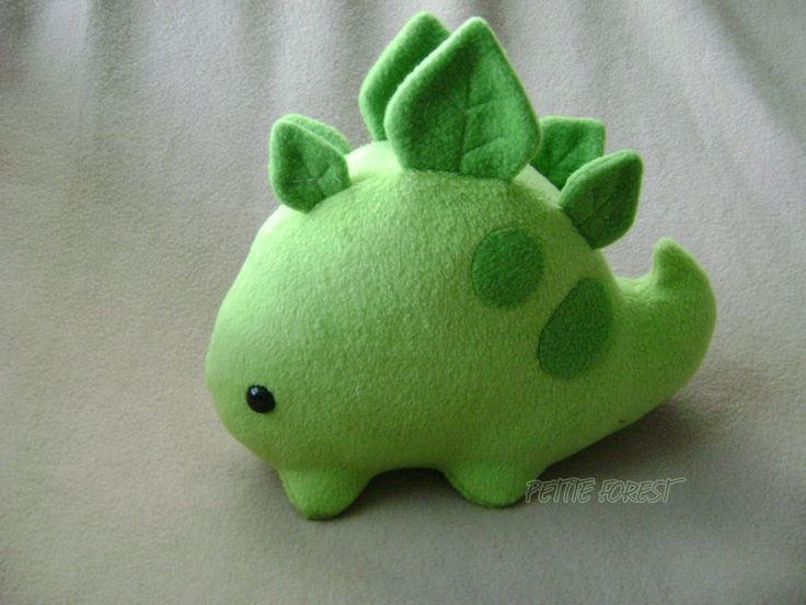 """Deluxe Stego Sprout"" by NekoNaoko - I imagine this could be fairly easy to make... it's super cute too!"