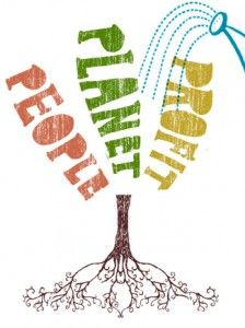 Article on the Triple bottom line with people and planet first.  I love the graphic.