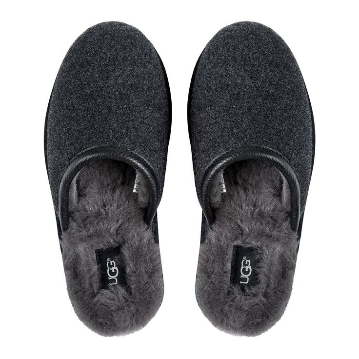 Discover the UGG® Men's Scuff Novelty Slippers - Black at Amara
