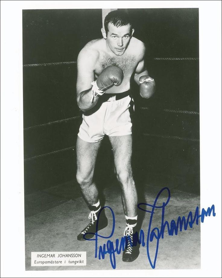 Jens Ingemar Johansson September 22 1932 January 30