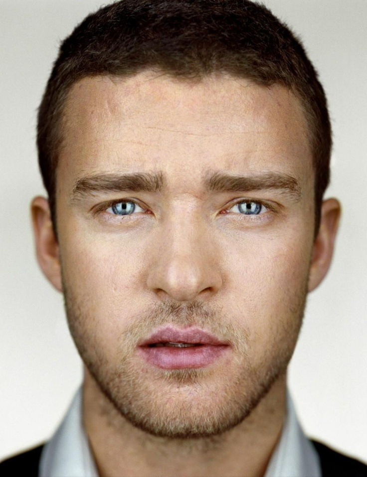 Celebrity Portraits by Martin Schoeller justin timberlake