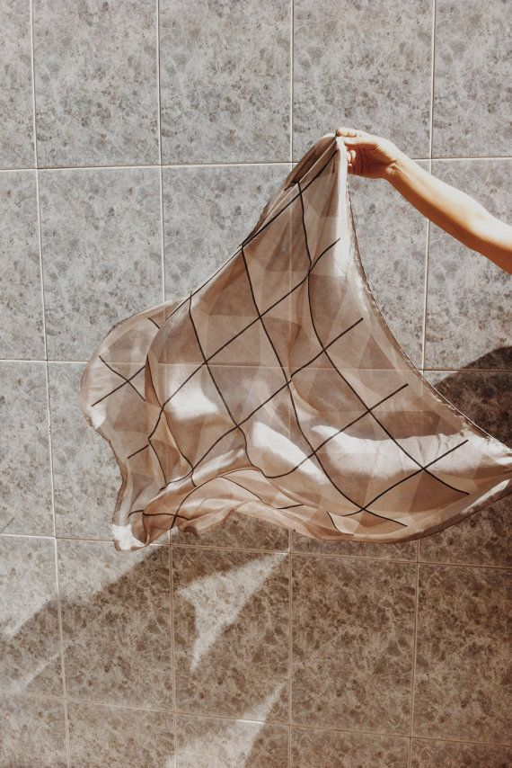 Items similar to Nude Scarf on Etsy