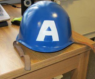 WWII Captain America Helmet Instructions from WWII M1 Helmet