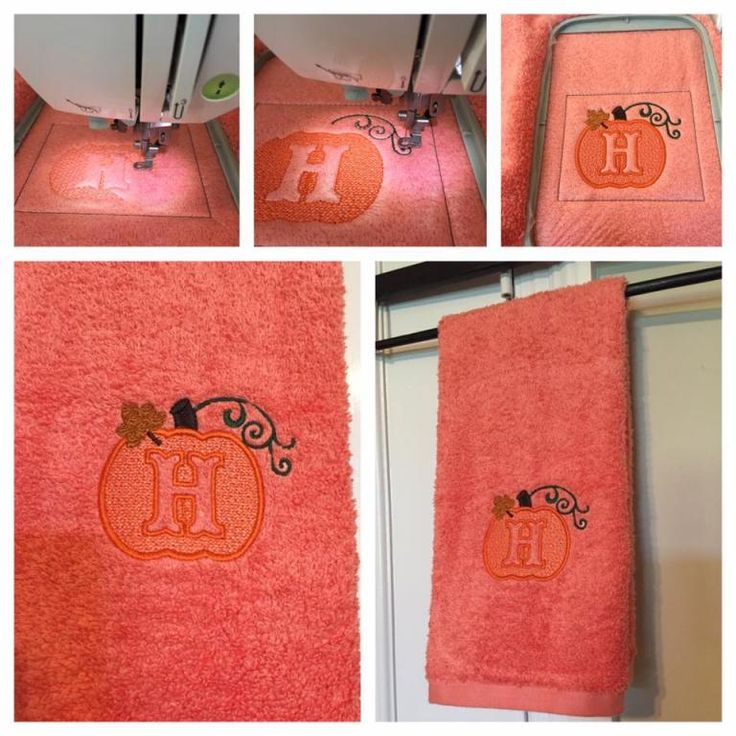 Embossed Pumpkin Monogram Alphabet