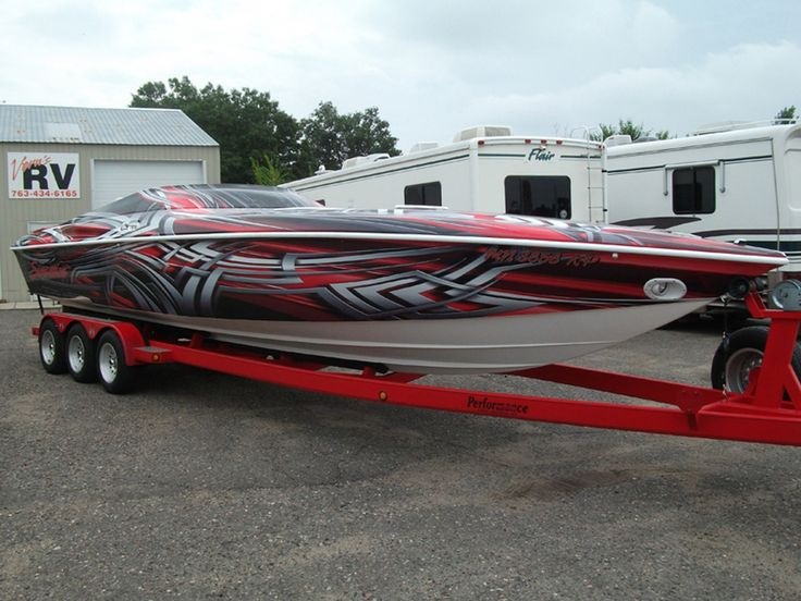 Custom boat graphics wraps the graphic guys custom vehicle wraps in ham lake boats