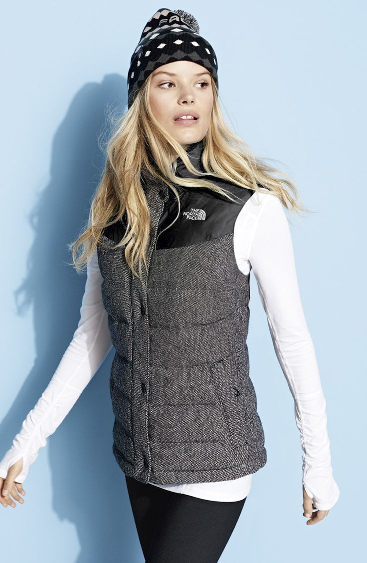 The North Face 'Nuptse Tweed' Water Resistant Down Vest