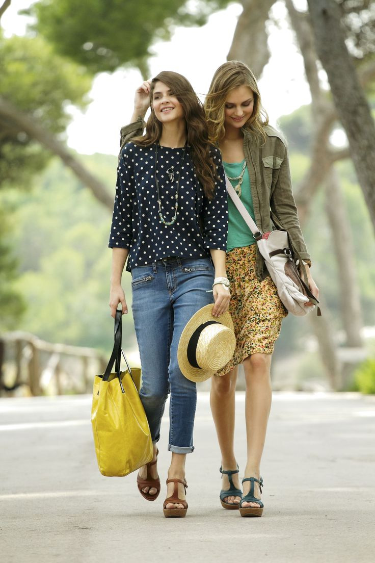 In Store now - Brand new range by Spain's Indi Love the print skirt, yellow tote, sandals, cute top. Love Indi! EB x