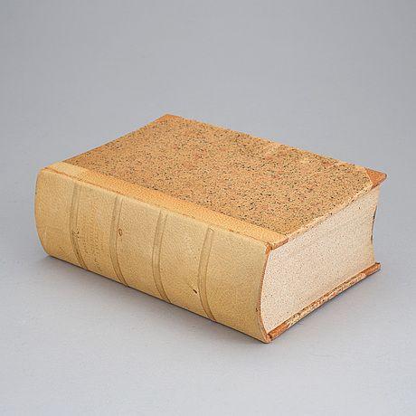 """GUSTAF UPMARK Bok """"Guld- och Silversmeder i Sverige 1520-1850"""""""