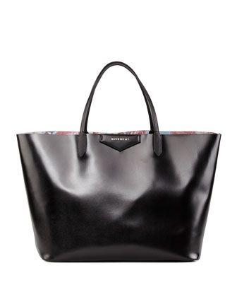 Antigona+Large+Floral-Interior+Shopper+Bag+by+Givenchy+at+Bergdorf+Goodman.