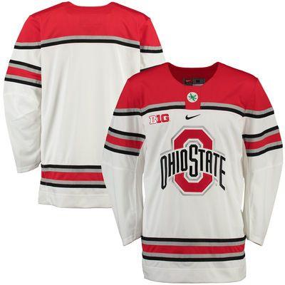 Ohio State Buckeyes Nike NCAA Replica Hockey Jersey - White