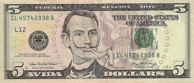 Funny money...
