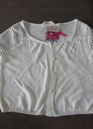 À vendre sur #vintedfrance ! http://www.vinted.fr/mode-femmes/gilets/30007666-gilet-court-blanc-manche-courte
