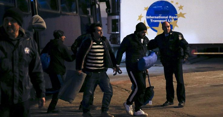 Greece begins deportations FRONTEX says implementing EU -Turkey deal is a 'challenge' Migrants keep coming unaware of new accord Greece has begun the process of deporting migrants under the EU deal agreed with Turkey. On Monday the first group of 150 people mainly from Pakistan and Bangladesh were transfered, handcuffed and under police escort, from the Greek island of…