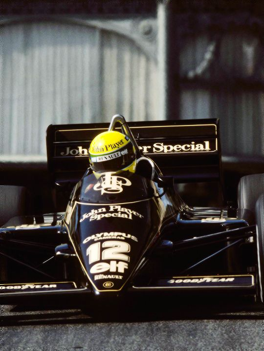 Ayrton Senna - Lotus JPS 1986