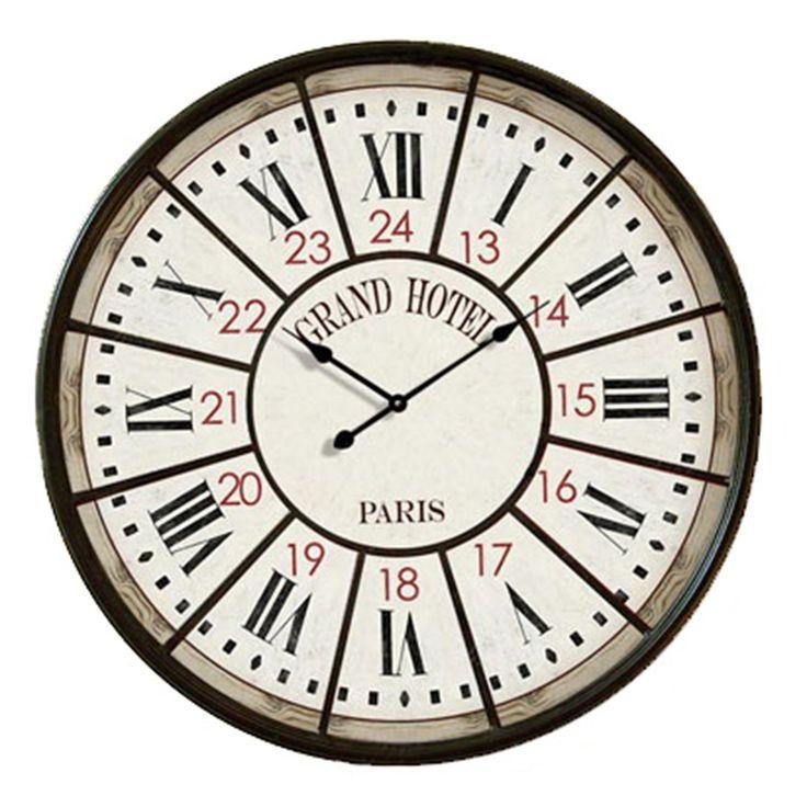 Reloj decorativo de pared GRAN HOTEL 58 (Relojes decorativos)